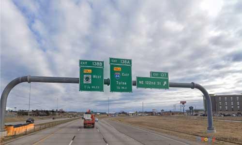 ok i 15 rest area bidirectional mile marker 137