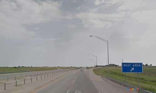 ok i 15 rest area southbound mile marker 225
