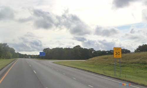 ok i 40 rest area westbound mile marker 257