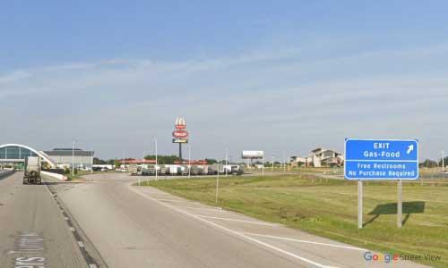 ok i 44 service center eastbound mile marker 288