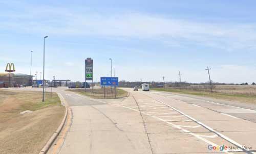 ok i 44 service center westbound mile marker 85