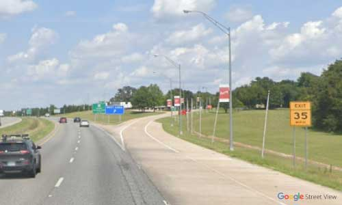 ok us 75 rest area northbound